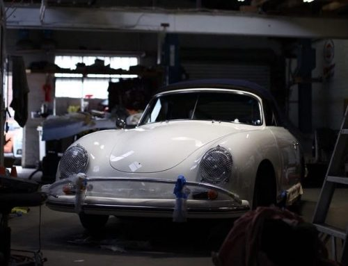 The tucked away Porsche 356 that became a concours winner…