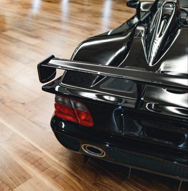Mercedes CLK-GTR roadster back