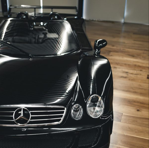 Mercedes CLK-GTR roadster front