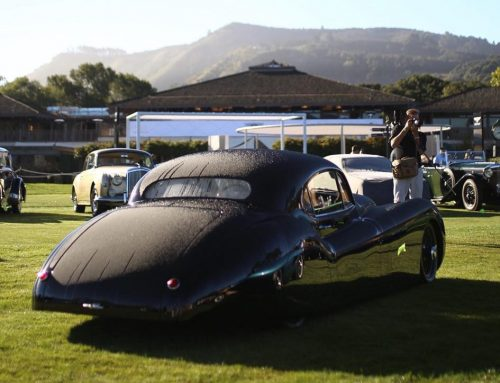Flying across the world to detail at the Quail …