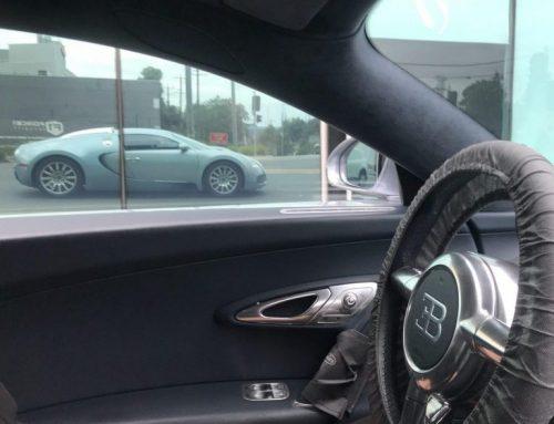 Servicing and Riding Shotgun in a Bugatti Veyron