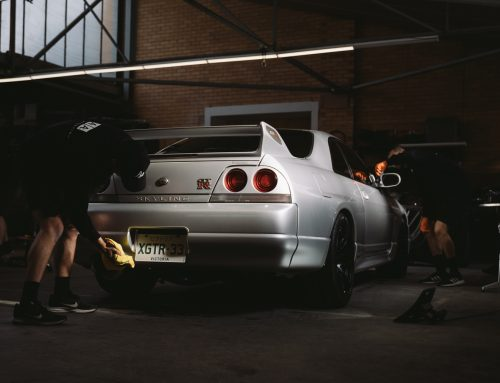 Follow Auto Attention Wash, Polish & Ceramic Coat this R33 GTR